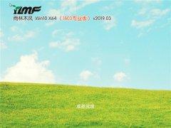 雨林木风 Win10 x64 专业版 v2019.03